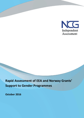 Rapid assessment of EEA and Norway Grants' support to gender programmes