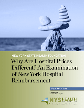 Why are Hospital Prices Different? An Examination of New York Hospital Reimbursement