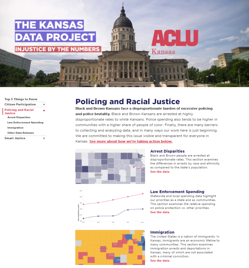 The Kansas Data Project: Policing and Racial Justice